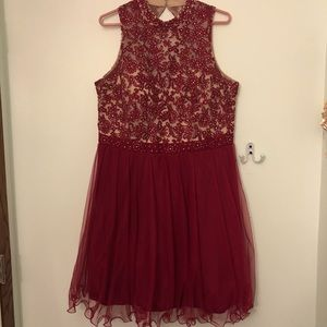 Red Dress- perfect for homecoming/formal/prom